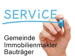 Unser Service für Gemeinden, Bauträger und Immobilienmakler-