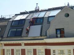Zinshäuser, Wohnhaus-Revitalisierung, Dachbodenausbau-
