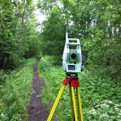 Spezialgebiet: Wald- und Forstvermessung-
