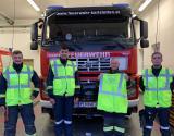 Warnwesten-Spende an die Freiwillige Feuerwehr Karlstetten
